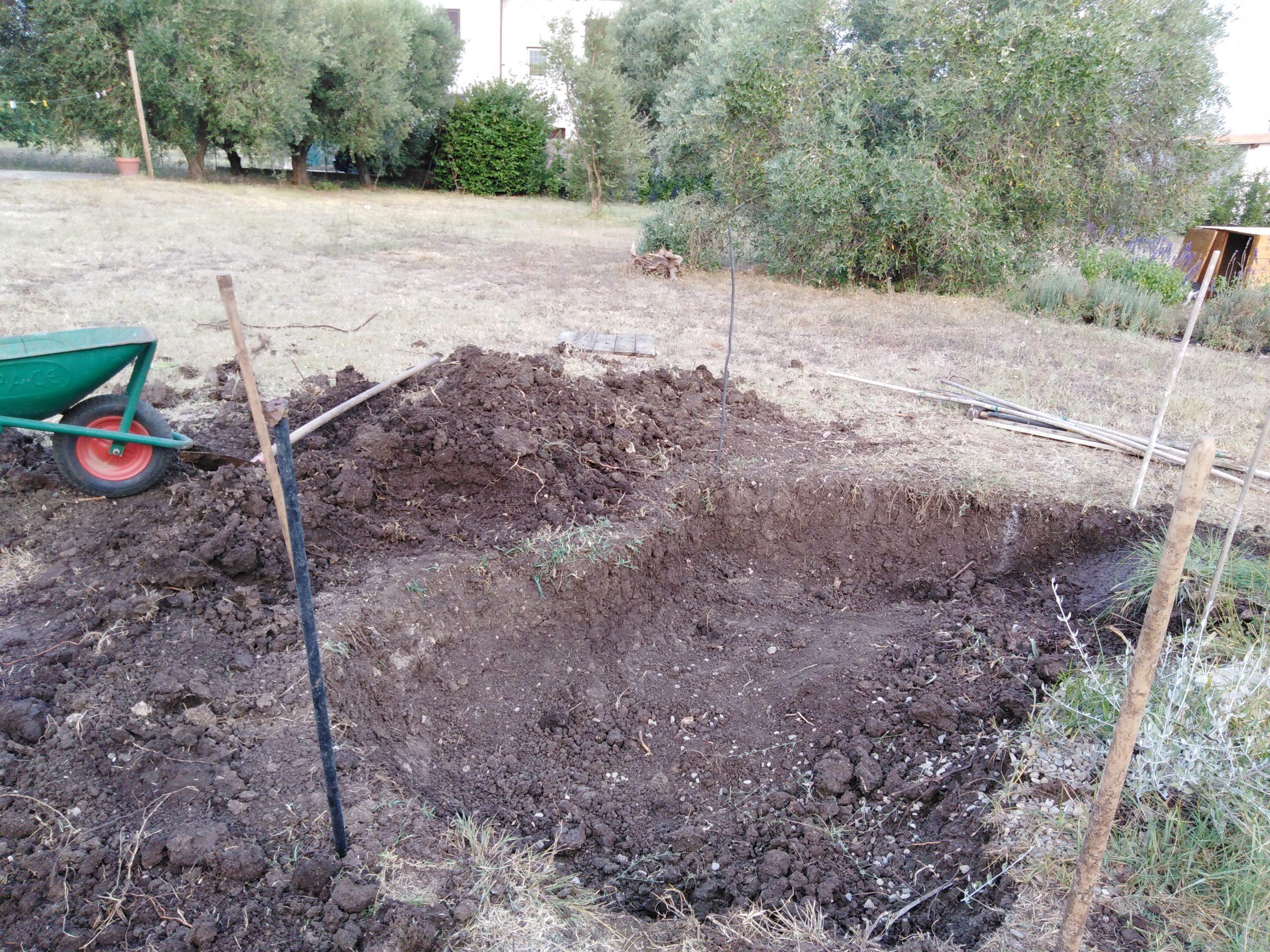 Realizzare Prato Su Cemento costruire un laghetto in cemento | imparardinaggio
